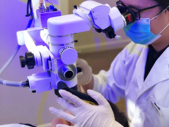 Microscope Dental Technology Dentist Footscray Dr Vincent Huang Focus On Dental